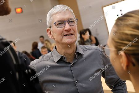 Editorial image of New Apple iPhone 11 on Sale in New York, USA - 20 Sep 2019
