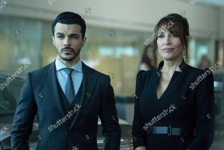 Shalim Ortiz as Mateo and Katey Sagal as Teresa Williams