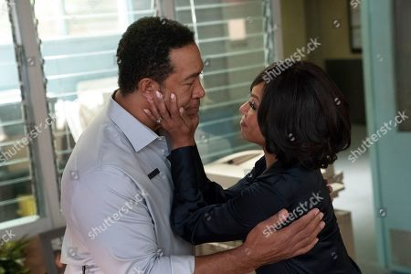 John Marshall Jones as Malcolm Parker and Wendy Raquel Robinson as Helen Parker