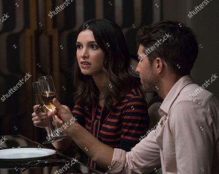 Denyse Tontz as Alicia Mendoza and Bryan Craig as Javi Mendoza