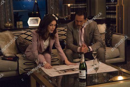 Denyse Tontz as Alicia Mendoza and Demian Bichir as Santiago Mendoza