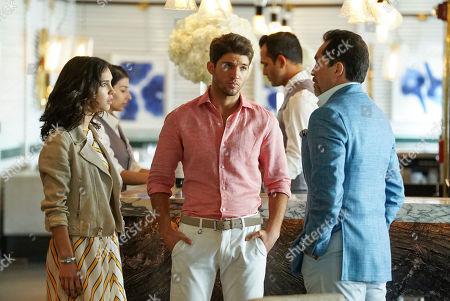 Denyse Tontz as Alicia Mendoza, Bryan Craig as Javi Mendoza and Demian Bichir as Santiago Mendoza
