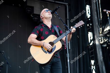 Stock Photo of Ed Kowalczyk of Live performs at Bourbon and Beyond Music Festival at Kentucky Exposition Center, in Louisville, Ky
