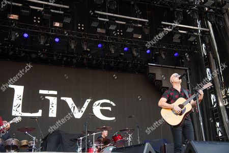 Ed Kowalczyk of Live performs at Bourbon and Beyond Music Festival at Kentucky Exposition Center, in Louisville, Ky