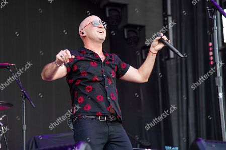 Stock Picture of Ed Kowalczyk of Live performs at Bourbon and Beyond Music Festival at Kentucky Exposition Center, in Louisville, Ky