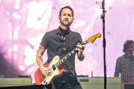 Chris Shiflett of the Foo Fighters performs at Bourbon and Beyond Music Festival at Kentucky Exposition Center, in Louisville, Ky