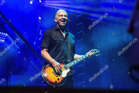 Stock Image of Pat Smear of the Foo Fighters performs at Bourbon and Beyond Music Festival at Kentucky Exposition Center, in Louisville, Ky