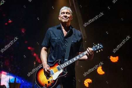 Pat Smear of the Foo Fighters performs at Bourbon and Beyond Music Festival at Kentucky Exposition Center, in Louisville, Ky