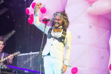 Stock Picture of Wayne Coyne of The Flaming Lips performs at Bourbon and Beyond Music Festival at Kentucky Exposition Center, in Louisville, Ky