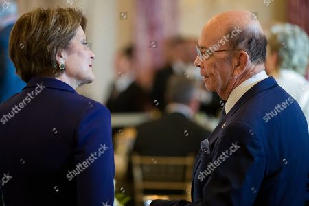 Marillyn Hewson, Wilbur Ross. Marillyn Hewson, left, chairman, president and chief executive officer of Lockheed Martin, speaks with Commerce Secretary Wilbur Ross, before a luncheon for Australian Prime Minister Scott Morrison, at the State Department, in Washington
