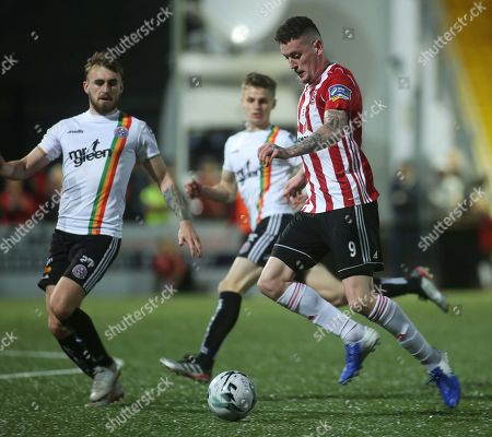 Editorial picture of SSE Airtricity League Premier Division, Ryan McBride Brandywell Stadium, Derry  - 20 Sep 2019