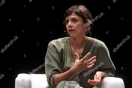 Stock Photo of Mexican writer Valeria Luiselli participates in the Hay Festival in Segovia, Spain, 20 September 2019. The art festival runs from 19 to 22 September.