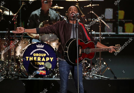 Stock Picture of Hootie and the Blowfish - Darius Rucker