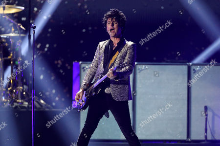 Stock Photo of Green Day - Billie Joe Armstrong