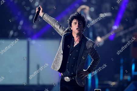 Stock Image of Green Day - Billie Joe Armstrong