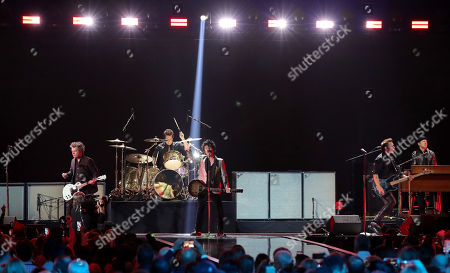 Green Day - Tre Cool, Billie Joe Armstrong and Mike Dirnt