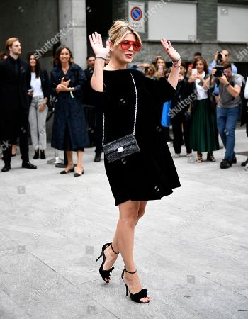Editorial picture of Street Style, Spring Summer 2020, Milan Fashion Week, Italy - 19 Sep 2019
