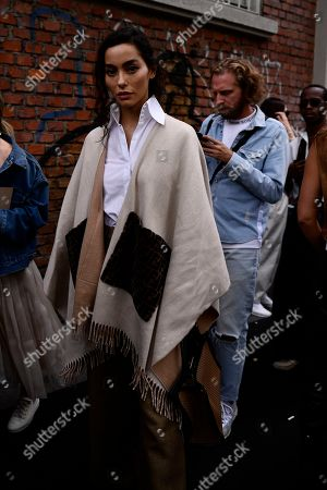 Editorial image of Street Style, Spring Summer 2020, Milan Fashion Week, Italy - 19 Sep 2019