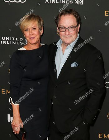 Stock Image of Romy Rosemont and Stephen Root