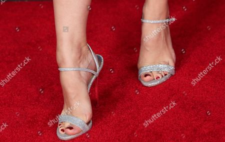 Kelli Berglund, shoe detail