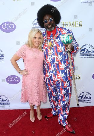 Stock Photo of Michele Elyzabeth and Afroman