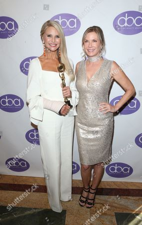 Stock Image of Christie Brinkley and Katherine Kelly Lang