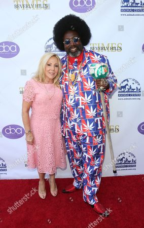 Stock Picture of Michele Elyzabeth and Afroman