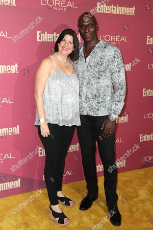Stephanie Reddick and Lance Reddick