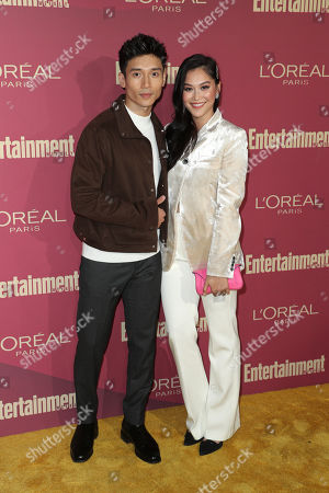 Manny Jacinto and Dianne Doan