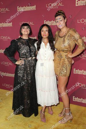 Stock Picture of Rebekka Johnson, Ellen Wong, and Marianna Palka