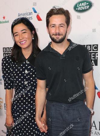 Maya Erskine and Michael Angarano