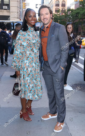 Stock Photo of Tika Sumpter and Mark-Paul Gosselaar
