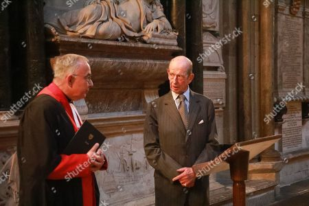 The Duke of Kent and the Very Reverend John Hall