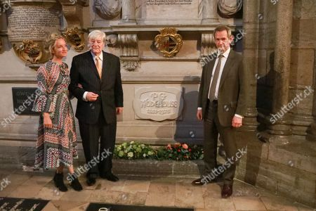 Lucy Tregear, Martin Jarvis and Alexander Armstrong