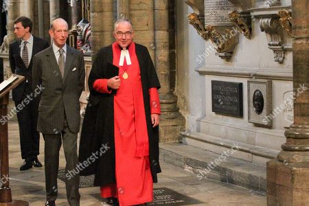 The Very Reverend John Hall and the Duke of Kent