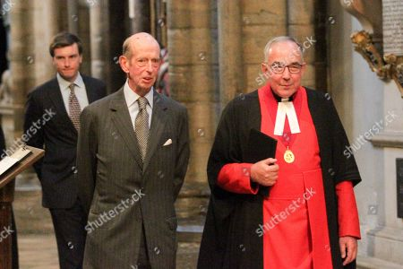 Stock Image of The Very Reverend John Hall and the Duke of Kent