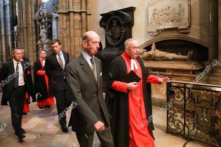 Stock Photo of The Very Reverend John Hall and the Duke of Kent