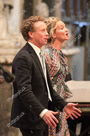 Stock Picture of Hal Cazalet and Lara Cazalet