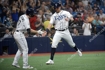 Editorial photo of Red Sox Rays Baseball, St. Petersburg, USA - 20 Sep 2019