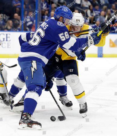 Editorial image of Predators Lightning Hockey, Tampa, USA - 20 Sep 2019