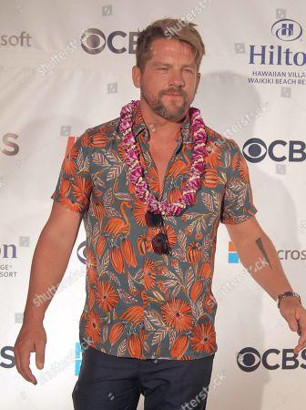 Zachary Knighton (Orville 'Rick' Wright) during the Hawaii Five-O and Magnum P.I. Sunset On The Beach event on Waikiki Beach in Honolulu, Hawaii - Michael Sullivan/CSM