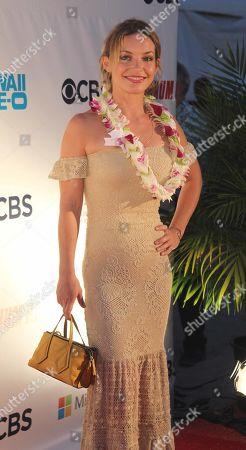 Perdita Weeks (Juliet Higgins) during the Hawaii Five-O and Magnum P.I. Sunset On The Beach event on Waikiki Beach in Honolulu, Hawaii - Michael Sullivan/CSM