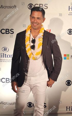 Jay Hernandez (Thomas Magnum) during the Hawaii Five-O and Magnum P.I. Sunset On The Beach event on Waikiki Beach in Honolulu, Hawaii - Michael Sullivan/CSM