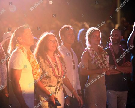 Editorial photo of Entertainment Hawaii Five-O & Magnum P.I. with Train at Sunset on the Beach SEP19, Honolulu, USA - 19 Sep 2019