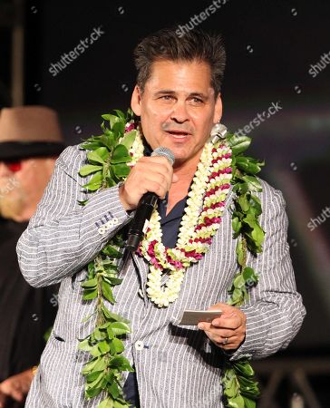 Executive Producer Peter M. Lenkov during the Hawaii Five-O and Magnum P.I. Sunset On The Beach event on Waikiki Beach in Honolulu, Hawaii - Michael Sullivan/CSM