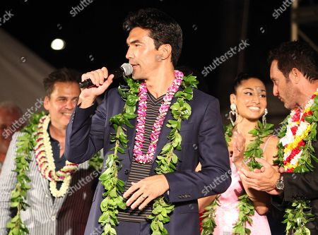 Stock Picture of Ian Anthony Dale during the Hawaii Five-O and Magnum P.I. Sunset On The Beach event on Waikiki Beach in Honolulu, Hawaii - Michael Sullivan/CSM