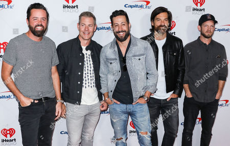 Old Dominion - Brad Tursi, Geoff Sprung, Matthew Ramsey, Trevor Rosen, and Whit Sellers