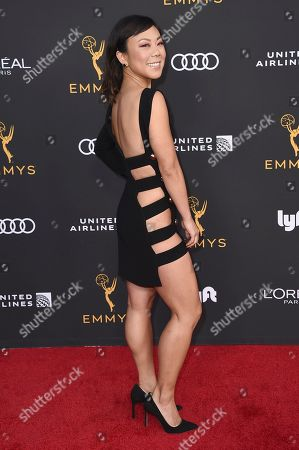 Ali Ahn arrives at the 2019 Performers Nominee Reception presented by the Television Academy at the Wallis Annenberg Center for the Performing Arts, in Beverly Hills, Calif