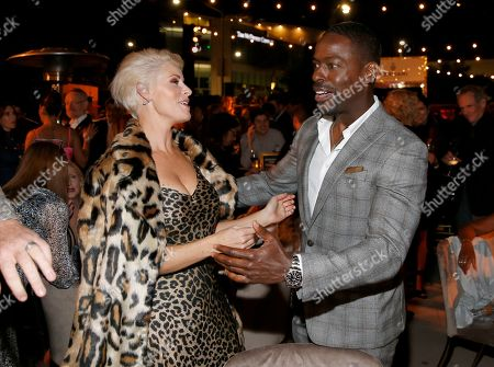 Rachel Reichard, Sterling K. Brown. Rachel Reichard, left, and Sterling K. Brown attend the 2019 Performers Nominee Reception presented by the Television Academy at the Wallis Annenberg Center for the Performing Arts, in Beverly Hills, Calif