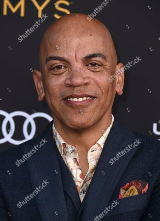 Rickey Minor arrives at the 2019 Performers Nominee Reception presented by the Television Academy at the Wallis Annenberg Center for the Performing Arts, in Beverly Hills, Calif